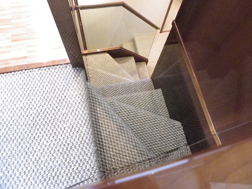 European Birchgrove Sisal - Custom Fit Into A Yacht